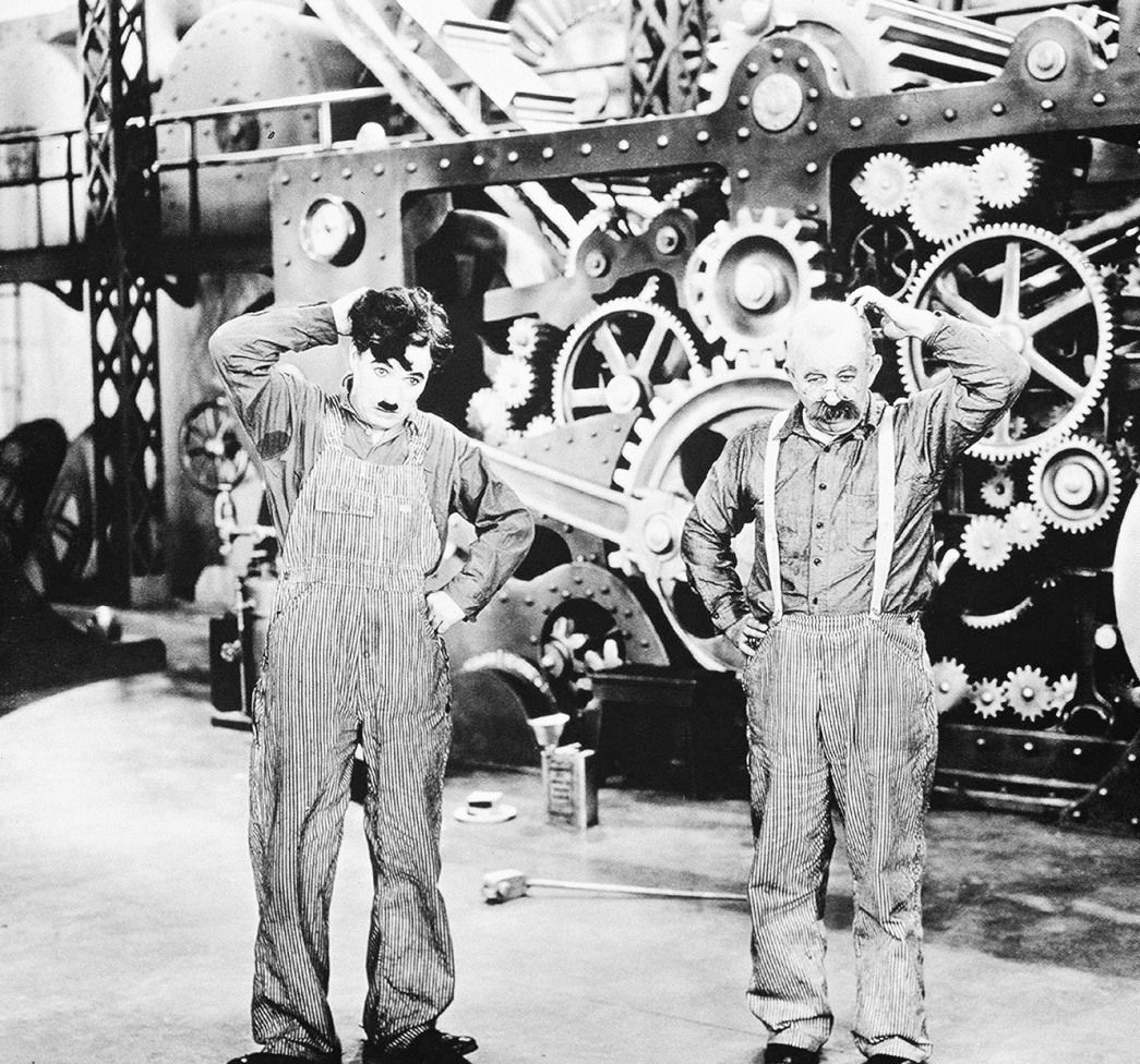 charlie chaplins modern times Directed by charles chaplin with charles chaplin, paulette goddard, henry bergman, tiny sandford the tramp struggles to live in modern industrial society with the help of a young homeless woman.