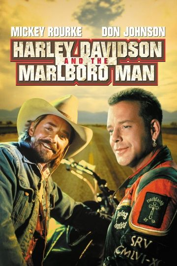 Харлей Дэвидсон и ковбой Мальборо / Harley Davidson and the Marlboro Man (1991)